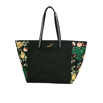 Desigual Women's Black Martinika Sporty Floral Bag