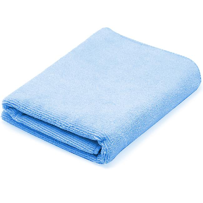 TRIXES Blue Microfibre Quick Dry Towel for Sports Gym Travel Bath Beach Swimming