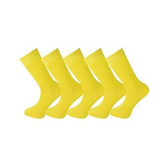5 Pairs Ankle Socks Plain 003