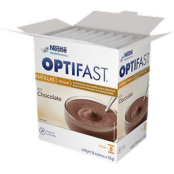 Optifast Chocolate Custard 9 envelopes x 54 gr