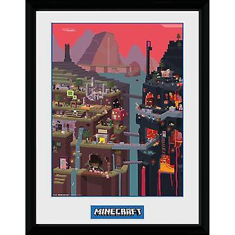 Minecraft - Painting, World