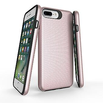 Para iPhone 8, 7, 6 e 6S Case, Rose Gold Armor Slim ShockProof Protective Cover