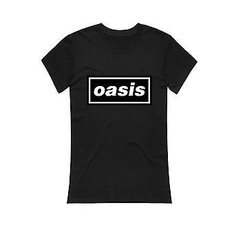 Schwarze Oase Logo Liam Noel Gallagher Offizielles T-Shirt