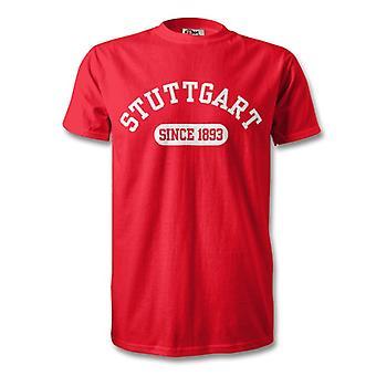 Stuttgart 1893 perustettiin jalka pallo T-paita
