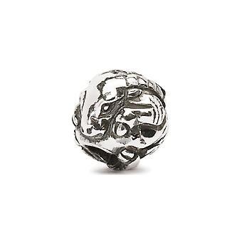 Trollbeads cinese capra D'argento perline
