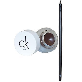CKOne Calvin Klein Eyeliner Gel med borste 2,8 g dubbel Espresso #700