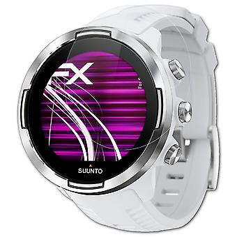 atFoliX Glass Protector compatible with Suunto 9 Glass Protective Film 9H Hybrid-Glass