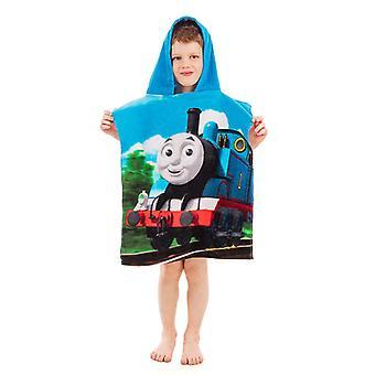 Thomas och vänner Hooded Handduk Poncho