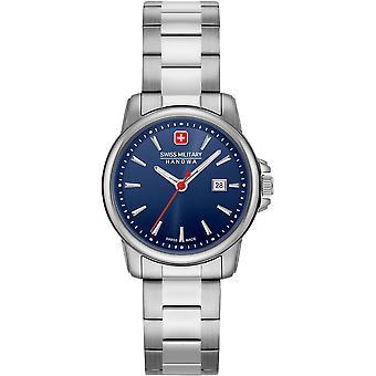 Sveitsin sotilaallinen Hanowa 06-7230.7.04.003 Sveitsin Recruit Lady II Watch