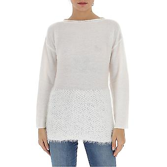 Fabiana Filippi Mad260w127a506vr1 Women's White Wool Sweater