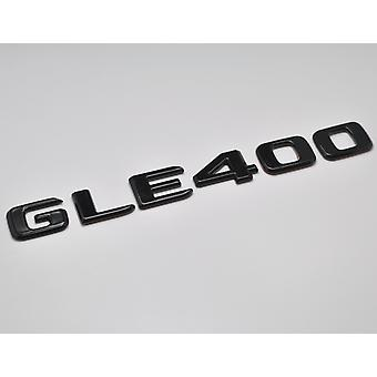 Gloss Black GLE400 Flat Mercedes Benz Car Model Numbers Letters Badge Emblem For GLE Class W166 C292 AMG