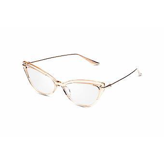 Dita Artcal DTX524 03 White Rose Gold Glasses