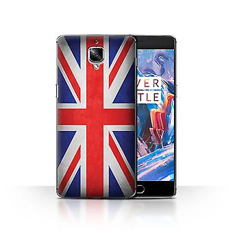STUFF4 Case/Cover for OnePlus 3/3T/Great Britain/British/Flags