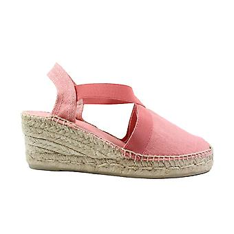 Toni Pons Ter Coral Linen Womens Wedge Heel Espadrille Shoes