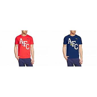Puma Arsenal FC Official Mens AFC T-Shirt