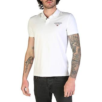Napapijri Original Men Spring/Summer Polo - White Color 34640