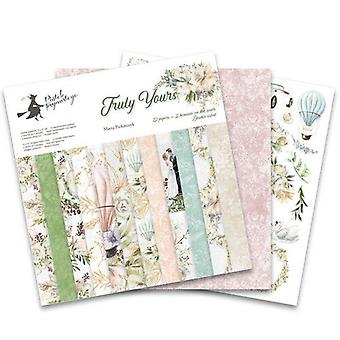 """Piatek13 12""""x12"""" Paper Pad - Truly Yours, 12 Sheets"""