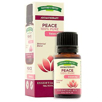 Naturens sannheten aromaterapi essensielle oljen blanding, fred, 0,51 oz