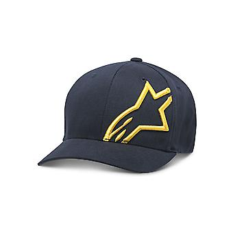 Alpinestars Mens Cap ~ Corp Shift 2 navy/gold