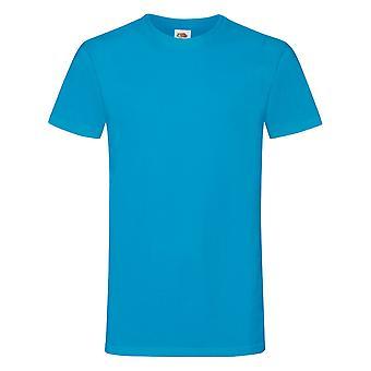 Vrucht van de Loom Mens Sofspun® Short Sleeve T-Shirt