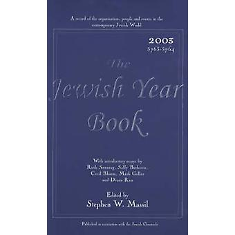 The Jewish Year Book - 2003 by S.W. Massil - 9780853034667 Book