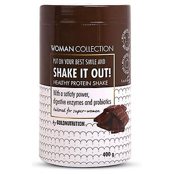 Gold Výživa Shake it Out Zdravé Protein Shake 400 gr