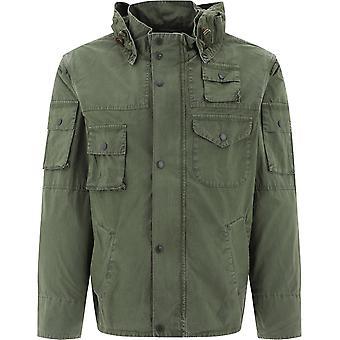 Barbour Bacps21550l52 Män's Grön bomull Ytterkläder Jacka