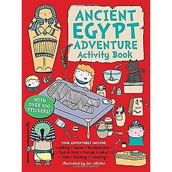 Ancient Egypt Adventure Activity Book by Jen Alliston - 9781787080362