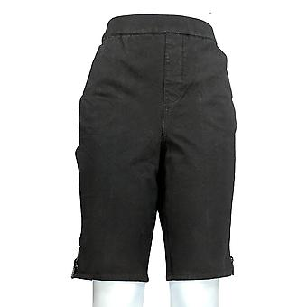 Quacker Factory Women's Shorts Dream Jeannes Black A351162