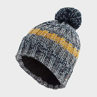 New The Edge Men's Snowstorm Hat Dark Grey