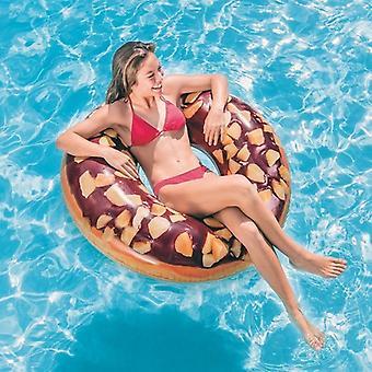Donut inflable de intex de flotador de piscina (114 cm)