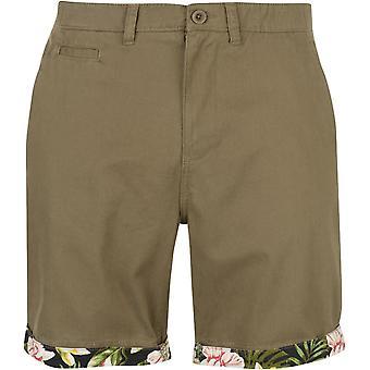 Pierre Cardin AOP Turn Up Shorts Mens