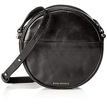 Royal RepubliQ Round Evening Bag Women Black Shoulder Bags (Black) 5.5x18x18 cm (B x H x T)