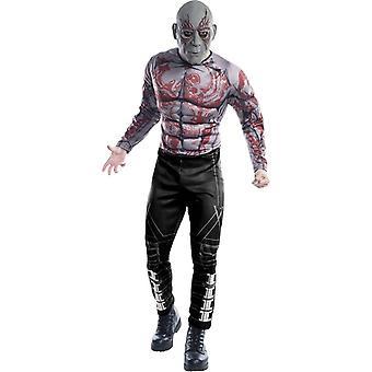 Hoeders van de Galaxy Drax de vernietiger volwassen kostuum
