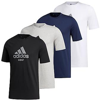 adidas Golf Mens 2020 Golf Tee Cotton Blend Crew Camiseta Gráfica