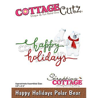 Scrapping Cottage Happy Holidays Polar Bears