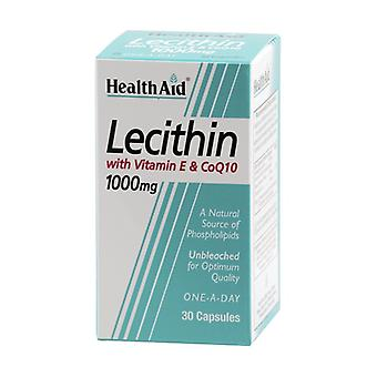 Lecithin, Vitamin E and Coq10 30 capsules