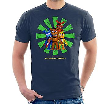 Five Nights At Freddys Retro Japanese Men's T-paita