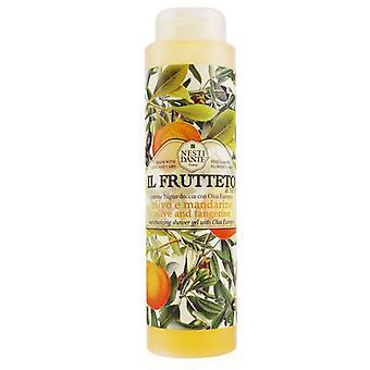Nesti Dante Il Frutteto Feuchtigkeitsdusche Gel mit Olea Europea - Olive und Mandarine 300ml/10.2oz