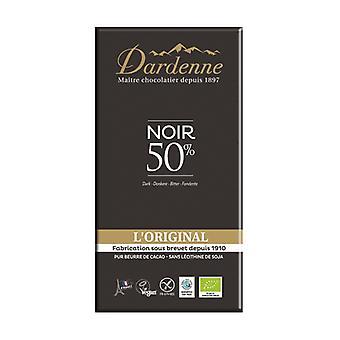 50% original dark chocolate tablet 200 g