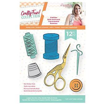 Crafter's Companion Crafty Fun Craft Box Stamp & Die