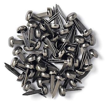 Doodlebug Design Gunmetal Mini Brads (25pcs) (97)