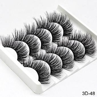 Falske øjenvipper Naturlig / tyk Lang Makeup Beauty Extension
