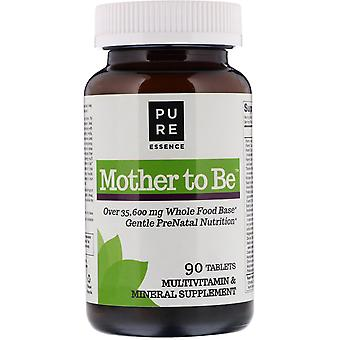 Pure Essence, Mother To Be, Multivitamin & Mineral, 90 Tabletten