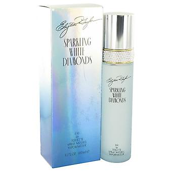 Sparkling White Diamonds Eau De Toilette Spray By Elizabeth Taylor 3.3 oz Eau De Toilette Spray
