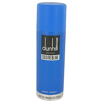 Desire Blue Body Spray By Alfred Dunhill 6.8 oz Body Spray