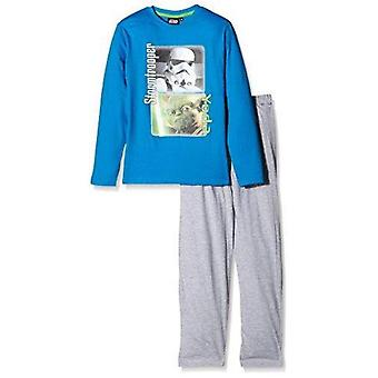 Star wars boy pyjama set  stormtrooper yoda stw858pyj