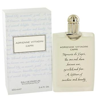 Capri Eau De Toilette Spray door Adrienne Vittadini 3.4 oz Eau De Toilette Spray
