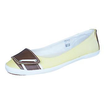 Tretorn Mia Mesh Womens Slip On Shoes / Flats - Yellow