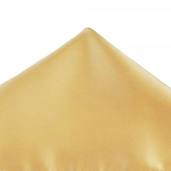 Legături Planet Plain Bright Gold Pocket Square Batista